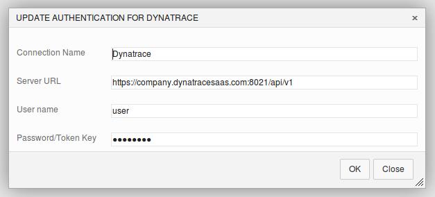 Dynatrace Service Endpoint